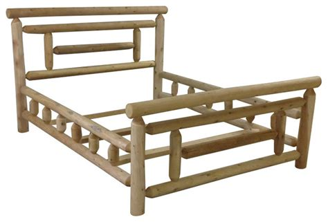 Cedar Bed Frame Ranch Cedar Bed Frame Craftsman Panel Beds By Motto S Cedar Products