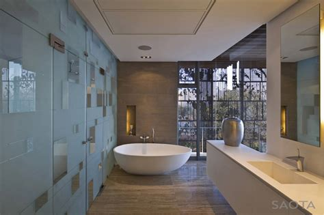 Modern Bathroom Design South Africa La Lucia South Mansion In Durban By Antoni