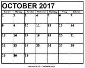 october 2017 printable calendar 2018 calendar printable