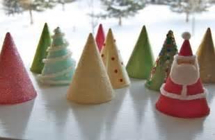 Hat Decorations Lavoretti Di Natale Per Bambini Alberelli Di Cartoncino