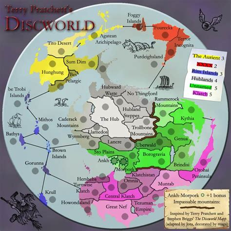 discworld map conquer club view topic discworld map done