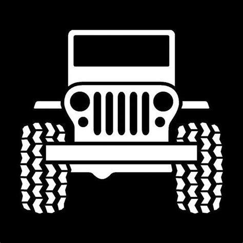 jeep wrangler logo decal jeep wrangler fan vinyl decal window sticker 86