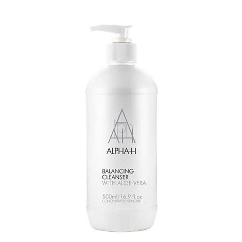 alpha  balancing cleanser ml exclusive  pump