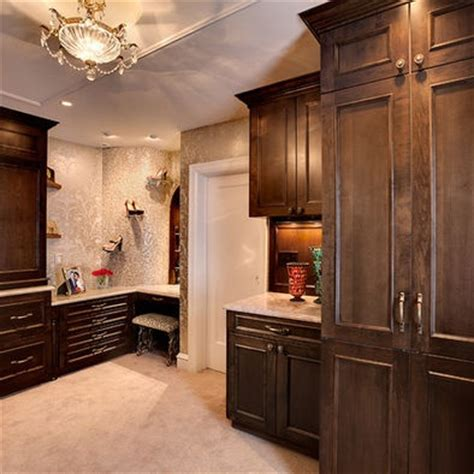 large walk in closet with vanity closet obsession