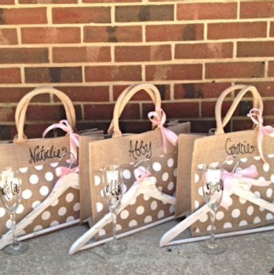 Handmade Gifts For Bridesmaids - best 25 bridesmaid gift bags ideas on
