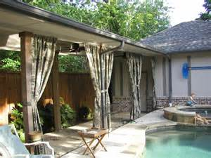 Patio Cabana by Patio Cover L A Pool Cabana Pictures To Pin On Pinterest