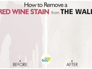 Remove Wine Stain From by Fabhow How To Do Anything You Want Faster And Better
