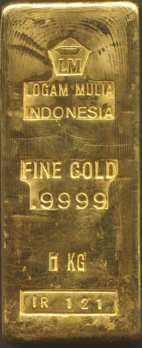 Lm Antam 5gr Gold Bar logam mulia gold bar 1 kg