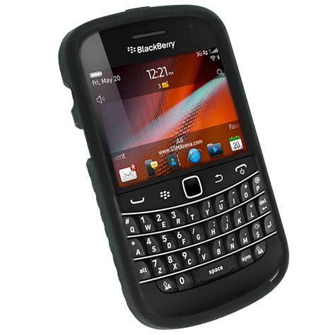 Hp Blackberry Bold 9930 noir pneu etui housse silicone pour blackberry bold touch