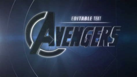 free cinema 4d avengers intro template avengers c4d