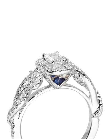 Vera Wang Engagement Rings On Sale by Vera Wang East Meets West Engagement Ring