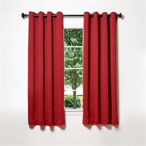 best home fashion thermal insulated blackout curtains antique bronze grommet top cardinal