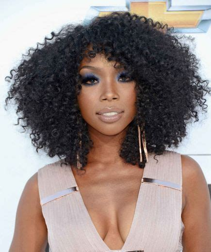 brandy loves natural hair but says as an actress she has hair inspiration chantilie nl