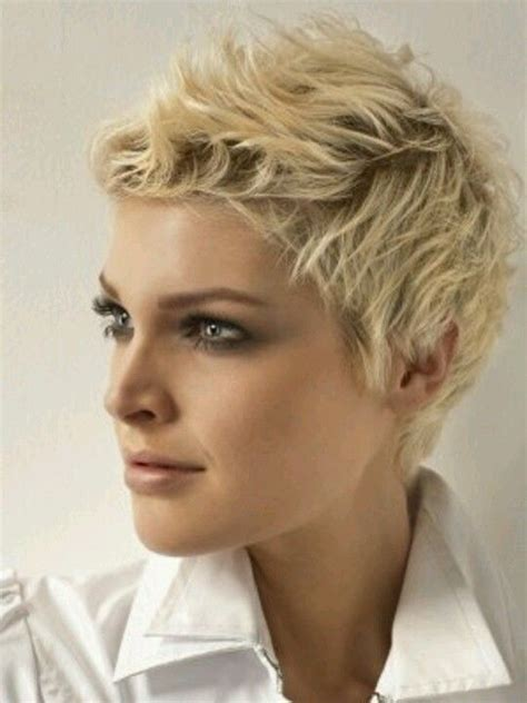 hairstyles that are off your face funky short hair blonde i wish i could pull off short
