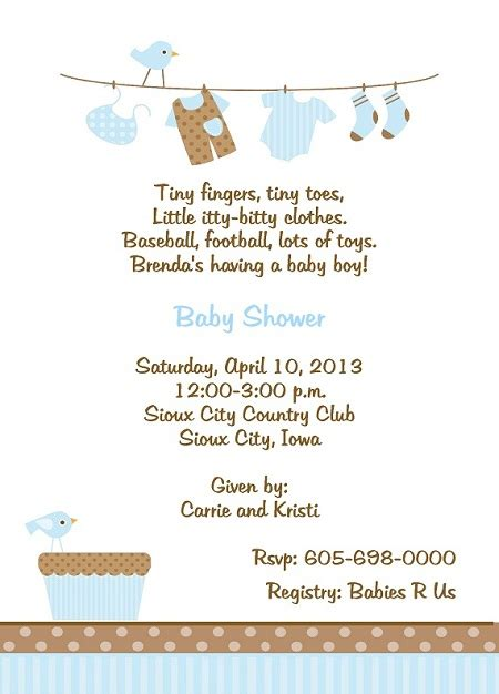Baby Shower Invitation Wording For A Boy by Baby Shower Invitation Wording For Boy Theruntime