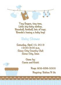 baby shower invitation wording for boy theruntime