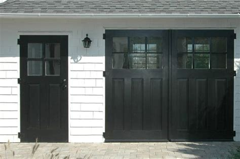 house craftsman and carriage doors on