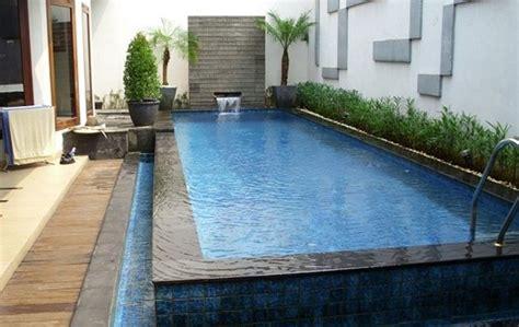 biaya pembuatan kolam renang minimalis berbagai ukuran blog material bangunan