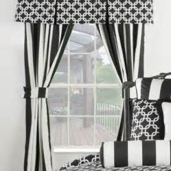 White And Black Curtains Black And White Striped Curtains Sale Save Upto 75