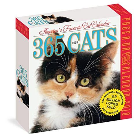 libro cat gallery calendar 2018 libro 365 cats 2018 calendar di