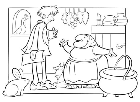 Strega Nona Coloring Pages coloring pages strega nona coloring pages strega nona big