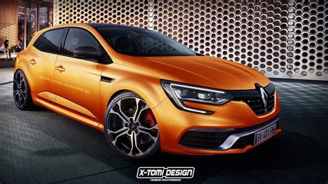 renault megane 2017 2017 renault megane rs rendered is the future hybrid