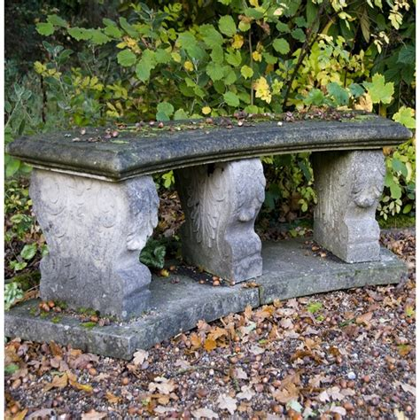 stone garden bench seat italian curved bench seat in stone the garden factory