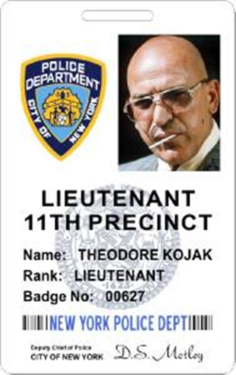 nypd id card images