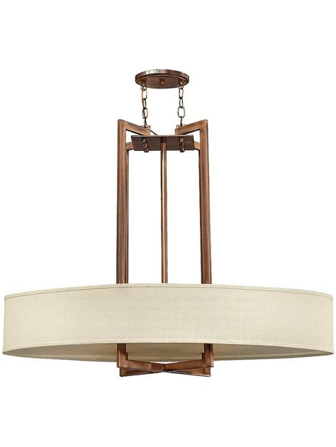 Linen Drum Shade Chandelier Hton Large Chandelier With Oval Linen Drum Shade