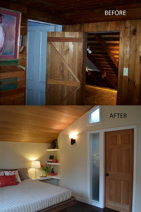 before after serene attic bedroom makeover idea decorating envy 17 best images about before after remodels on pinterest
