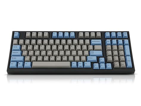 Mechanical Keyboard Leopold Fc980mcebp Black Pbt Keycap Blue Switch leopold fc980m grey blue pbt mechanical keyboard black cherry mx