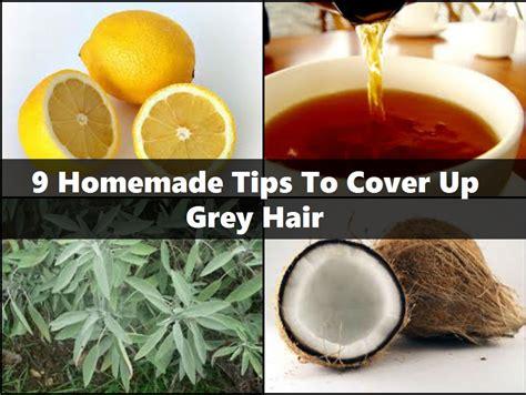 9 Homemade Tips To Cover Up Grey Hair Stylecraze | 9 homemade tips to cover up grey hair