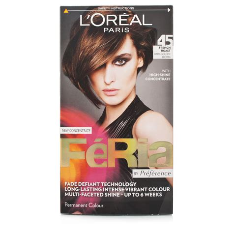 image gallery l oreal feria l oreal feria hair colour 45 roast
