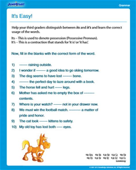 Third Grade Grammar Worksheets by Third Grade Grammar Worksheets Free Popflyboys