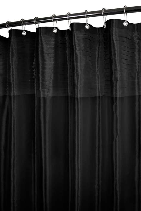 black fabric shower curtain top 20 shower curtains decoholic