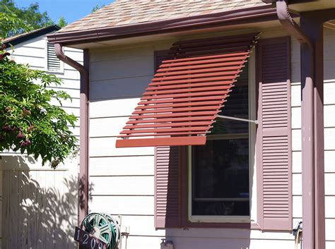 Window Awning by Panorama Window Awning Custom Colors