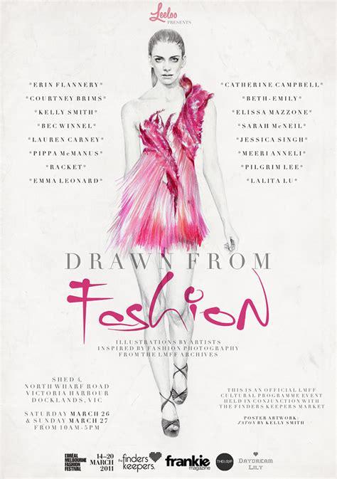 fashion show poster promo design 2014 on pinterest