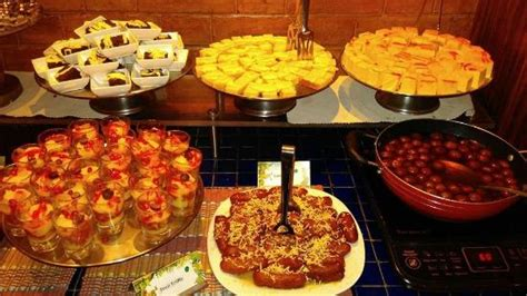 Desserts Counter Picture Of Barbeque Nation Kolkata Barbeque Nation Buffet Price