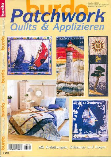 Burda Patchwork - 1215 best images about revista patchwork e aplique on