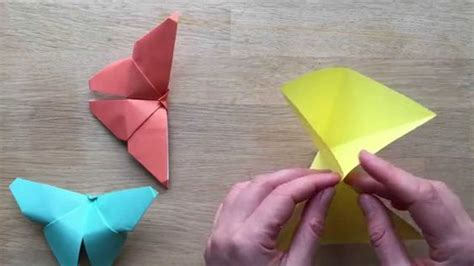 Easy Origami Butterfly - pages easy origami tutorial and student centered