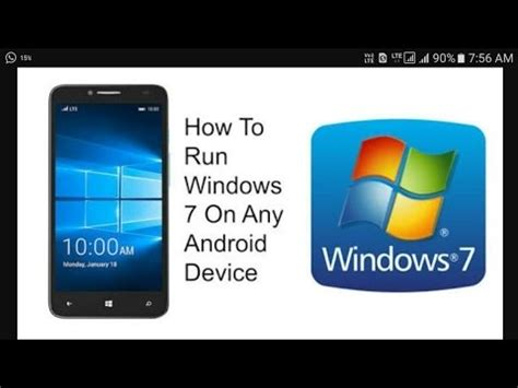 install windows 10 on any phone install run windows 10 8 7 xp on any android phone no
