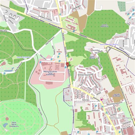 katowice map katowice map toursmaps