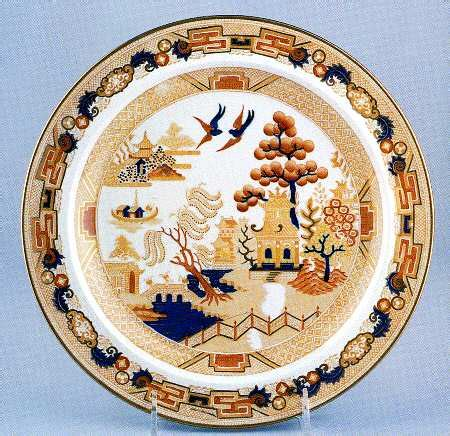 Yellow Willow Pattern | wedgwood willow yellow multicolor at replacements ltd