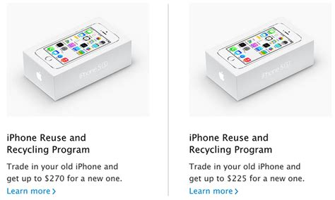 apple cuts 45 iphone reuse and recycling trade in value new max set at 225