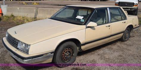 1986 Buick Lesabre Limited City Of Wichita Towed Vehicle Auction In Wichita Kansas