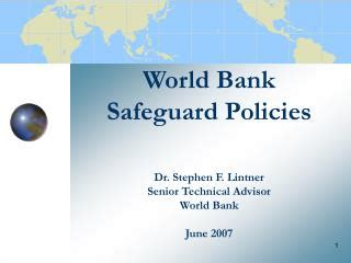 world bank 2007 ppt use of country systems to meet wb safeguard policies