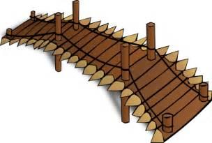 River Ridge Bookcase Wooden Bridge Clip Art At Clker Com Vector Clip Art