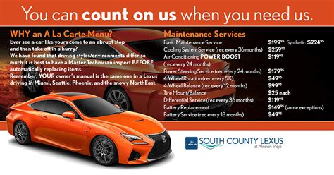 south county lexus south county lexus at mission viejo is a mission viejo
