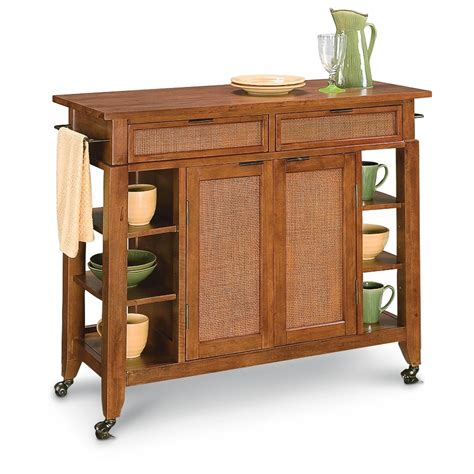 homestyles 174 jamaican bay large kitchen cart island