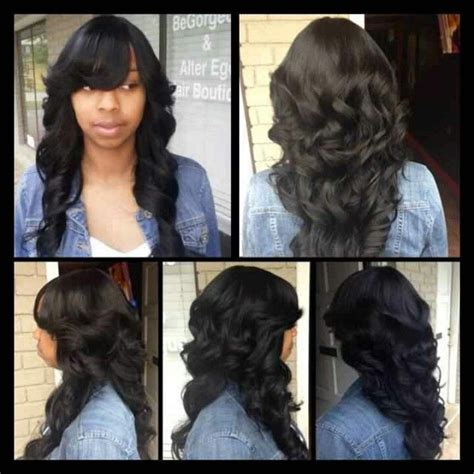 no hair out full weave 17 best images about full sew in on pinterest sew in